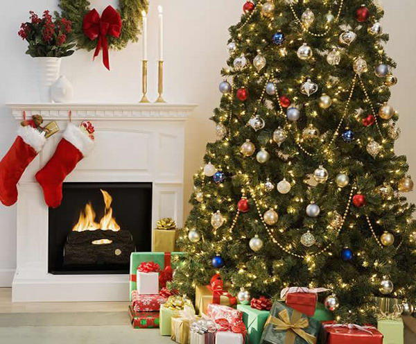 Tree Home Decoration christmas decorating ideas image 04