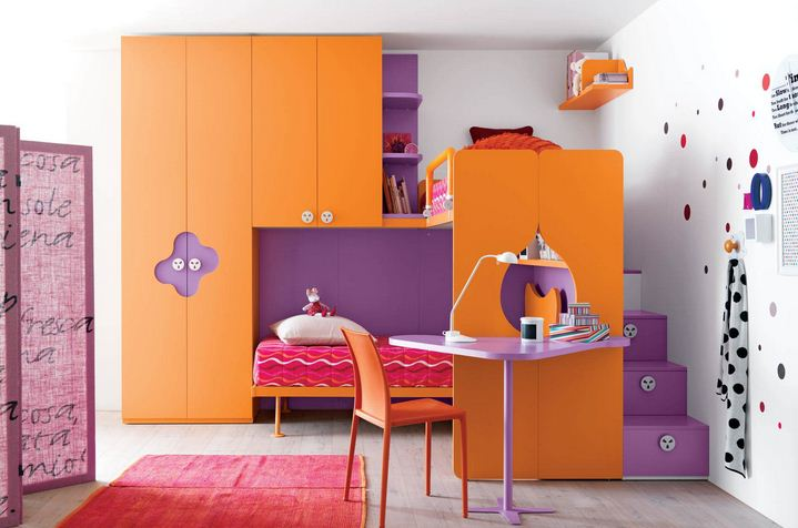 beautiful small cabin bed with wardrobe for teenage girls 08