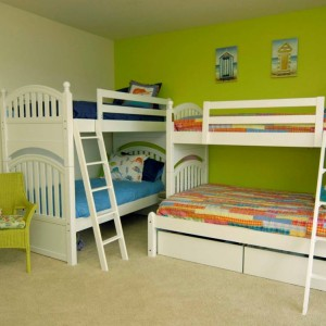 cabin bed small double for small room 09