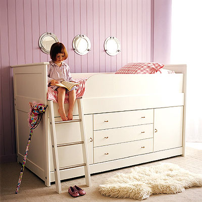 children's small cabin bed for small bedroom 02
