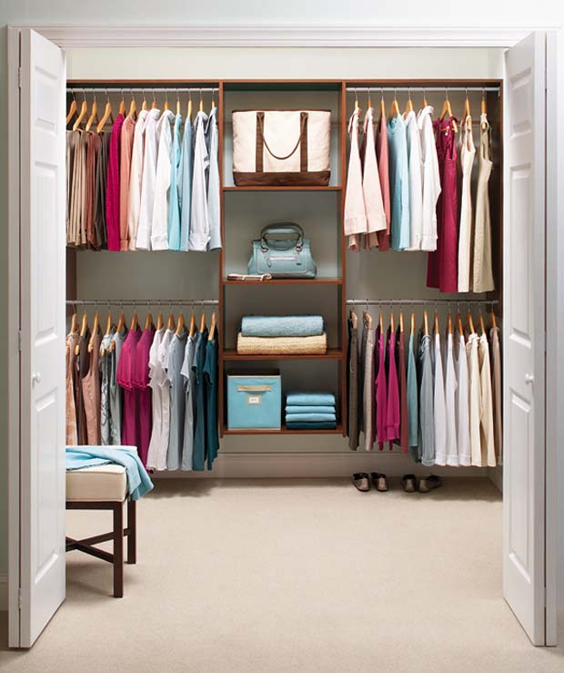 Closet ideas for small spaces 01 small room decorating ideas - Closet ideas for small spaces ...