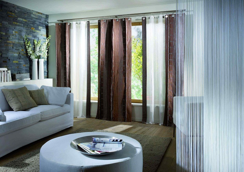 contemporary curtains design for small living room pics 08