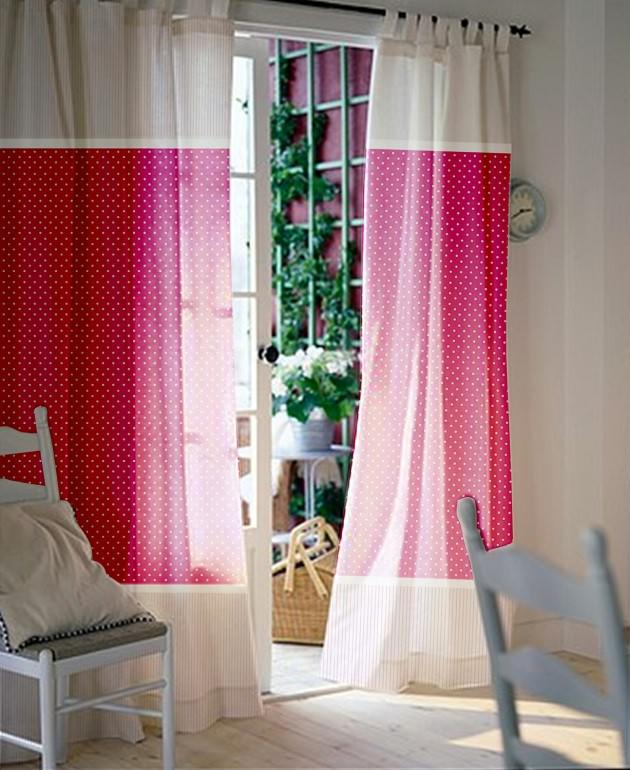 cute color curtains for girls room image 02