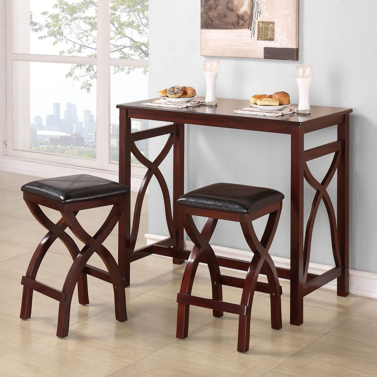 Small Dining Room Tables For Small Spaces: Small Round Dining Tables Ideas For Small Spaces 06