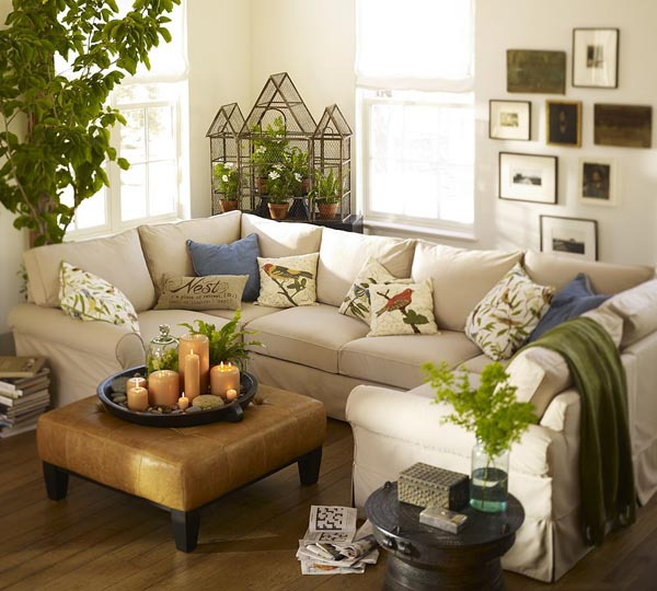 Ideas for decorating a small living room space pictures 03 for Very small living room ideas
