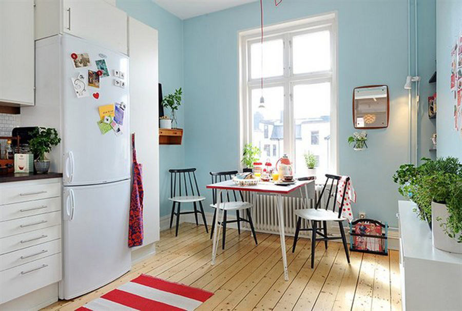 interior wall paint small spaces for dining room with kitchen furniture set 07