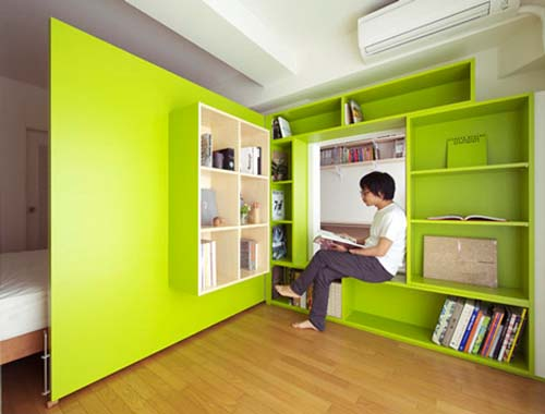 maximize space bedroom with Minimalist Sliding 02