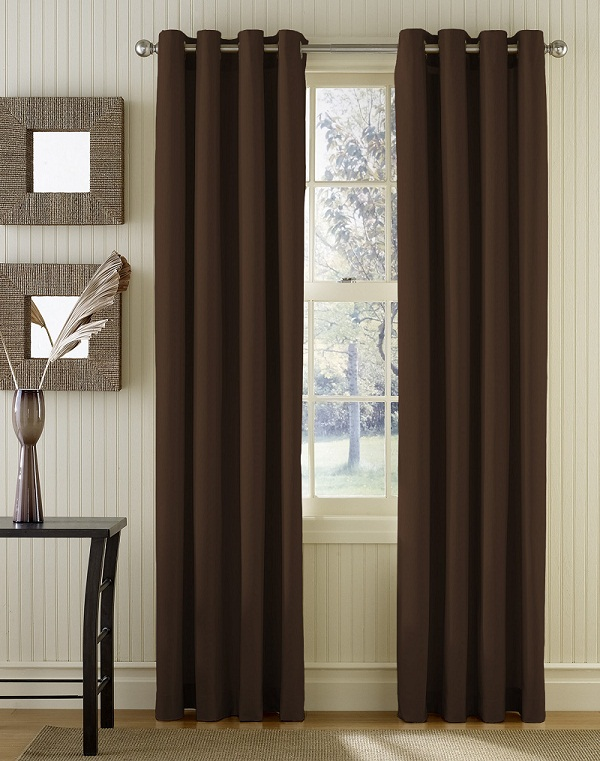 minimalist curtain design with brown color img 09