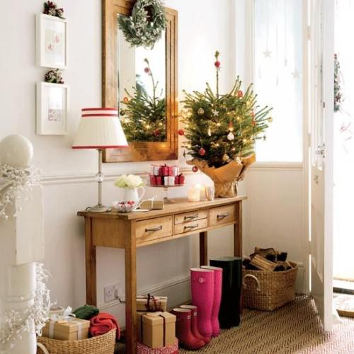 mirror christmas home decorating ideas  pictures 01