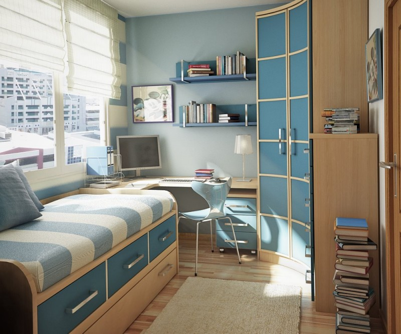 small bedroom decorating ideas college student image 009