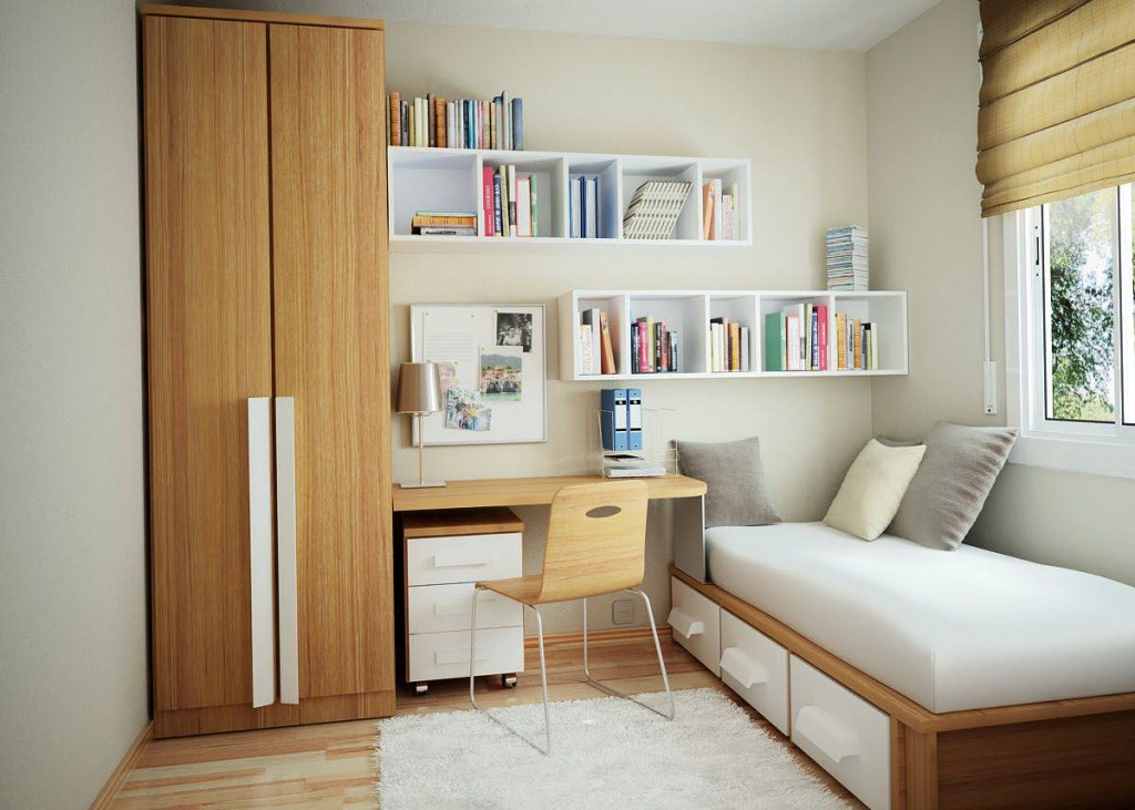 Tips for small bedroom decorating ideas small bedroom for Bedroom ideas student