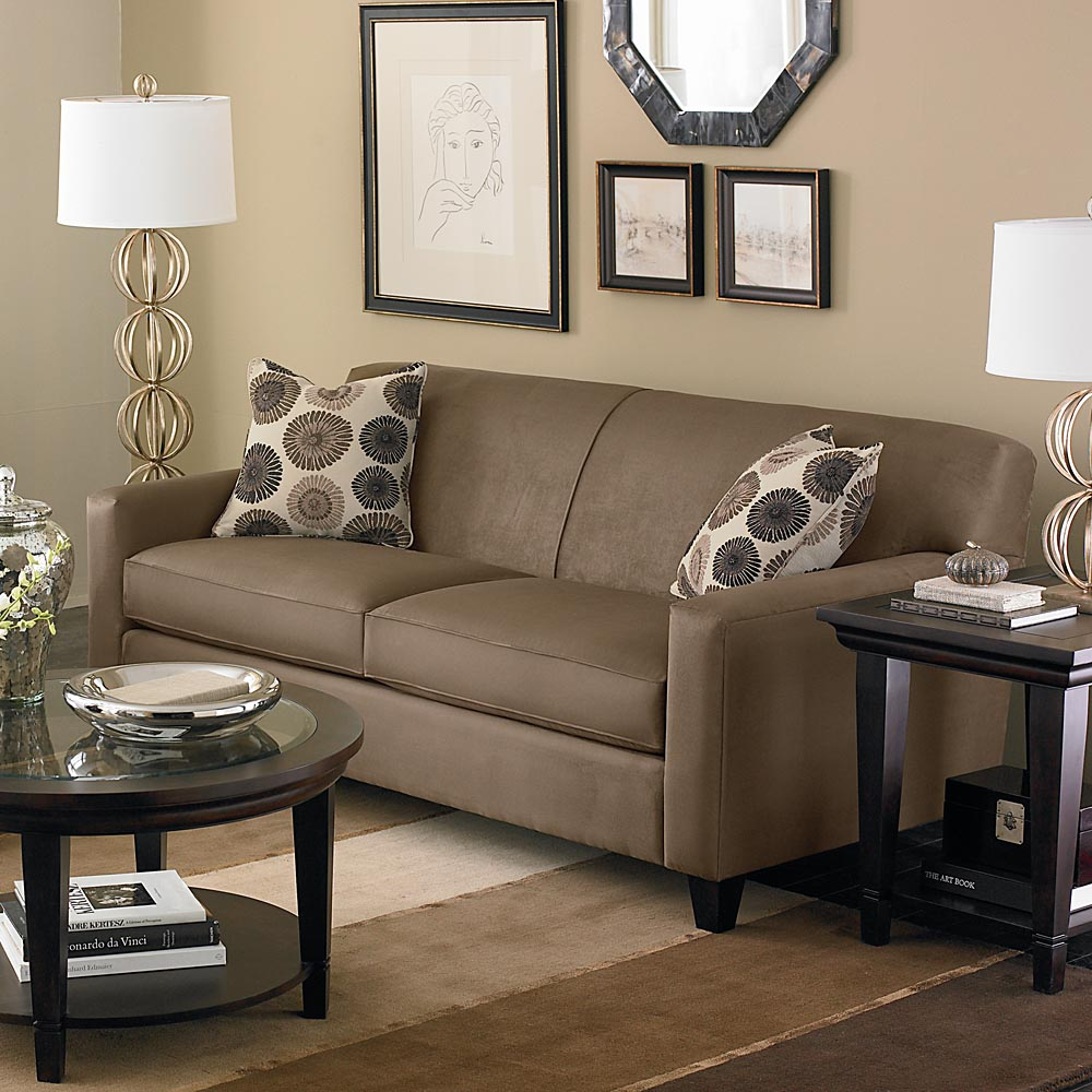 Sofa furniture ideas for small living room decoration photo 08 for Living room ideas video