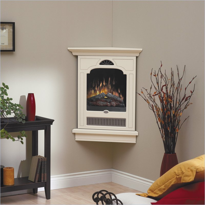 Very small corner electric fireplace for home decor picture 06 small room decorating ideas - Very small space heater decor ...