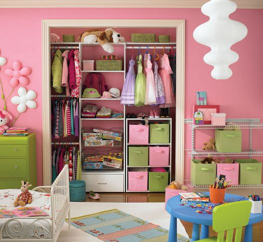 Closet design ideas for small kids room images 05