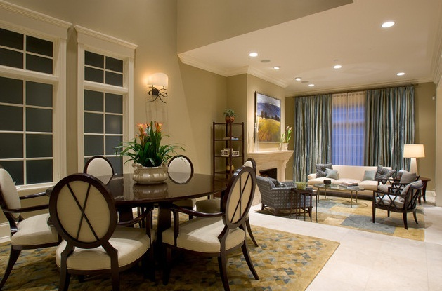Combined Living and Dining Rooms in Small Spaces Pictures 01