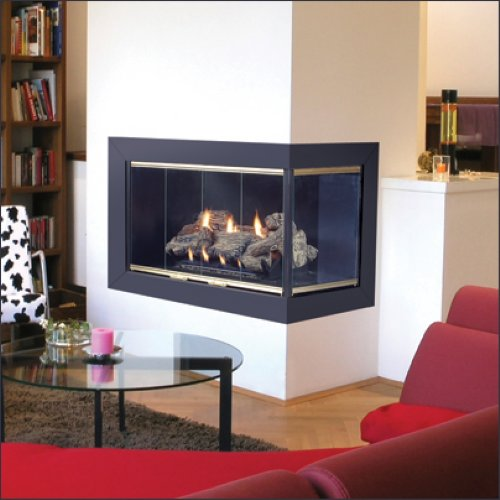 Corner Fireplace for small space ideas image 05