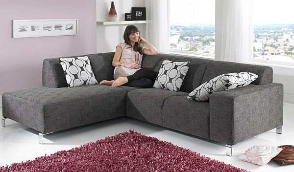 Fabric Corner Sofa for Living Room Design Pictures 02