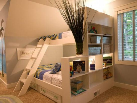 Great ideas make small bedroom look bigger 03