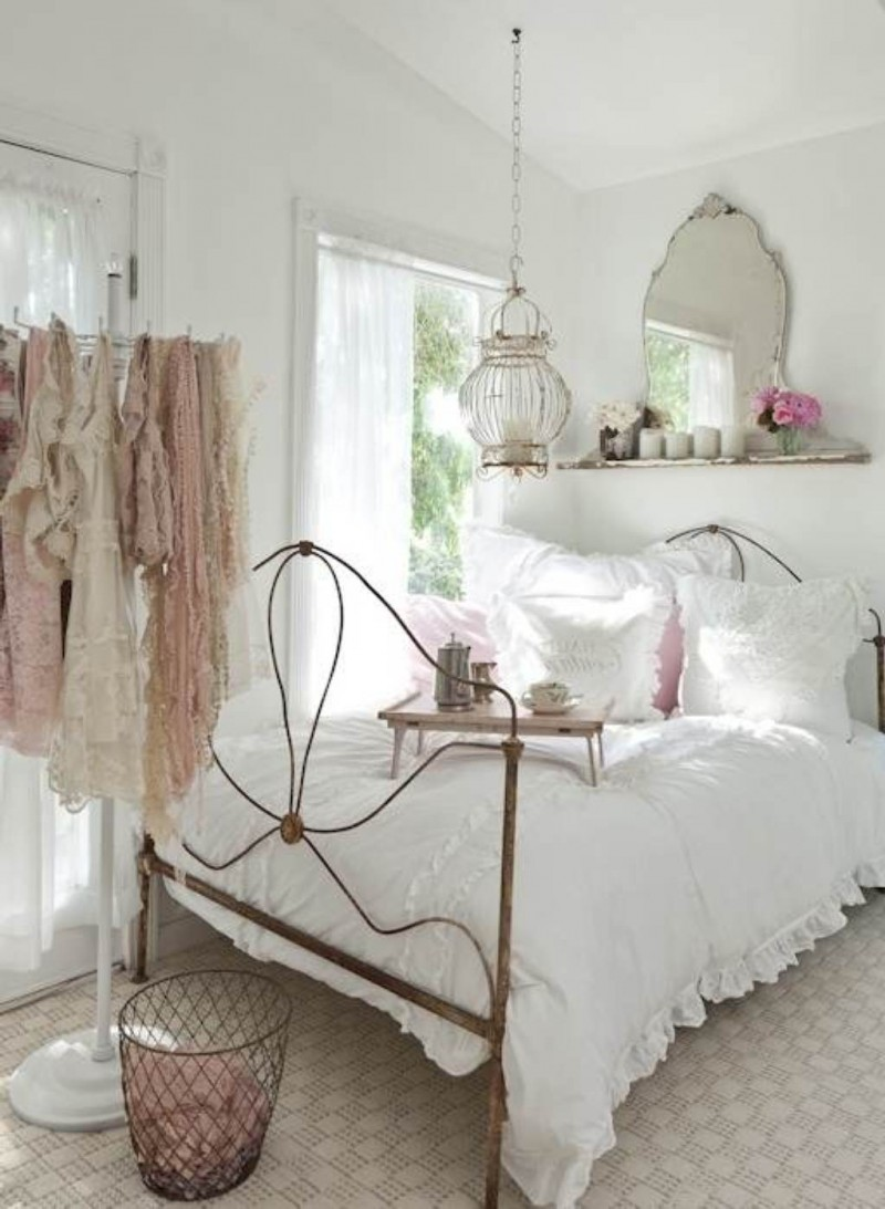nice shabby chic bedroom decorating ideas images 04