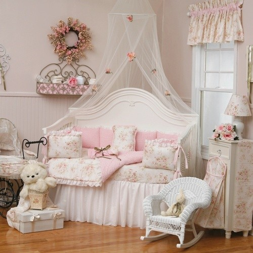 Pink Shabby Chic Bedroom Decor Ideas Pictures 02