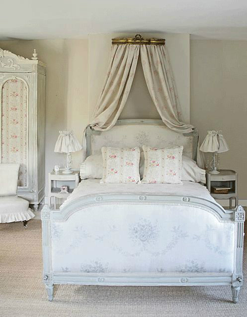 Shabby Chic Bedroom Decorating Ideas Pic 01