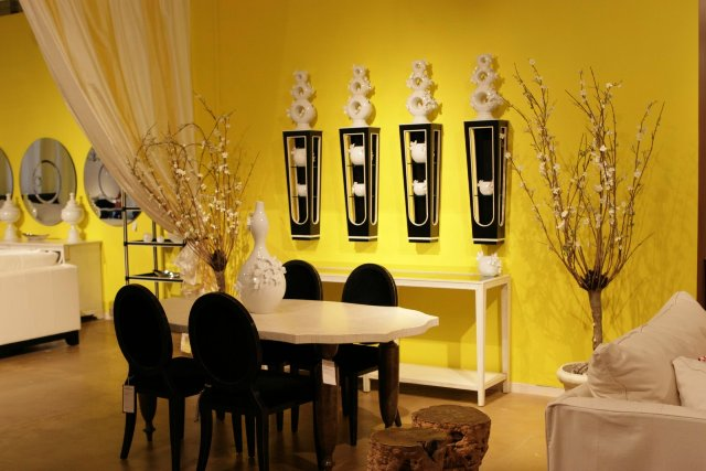 Yellow Trend 2014 small dining room images 04