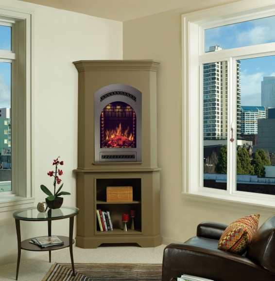 Electrical Home Design Ideas: Consider An Electric Fireplace For Your Home Heating Needs