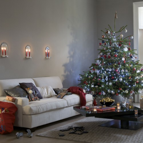 christmas decorations for small living room picture 01