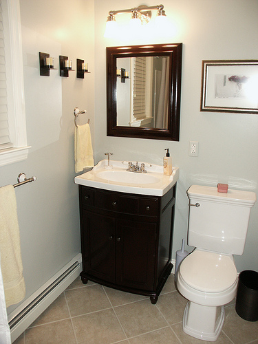 Remodeling a small bathroom can be fairly the task cool for Small bathroom designs images gallery