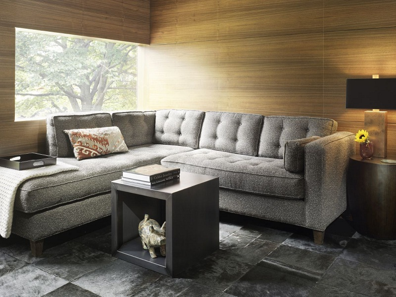 Corner sofas add grace to drawing room area small room Sofas for small living rooms