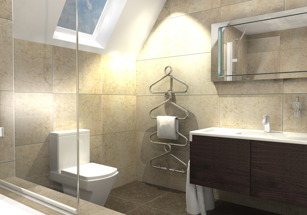 small bathroom remodeling with white toilet image 04