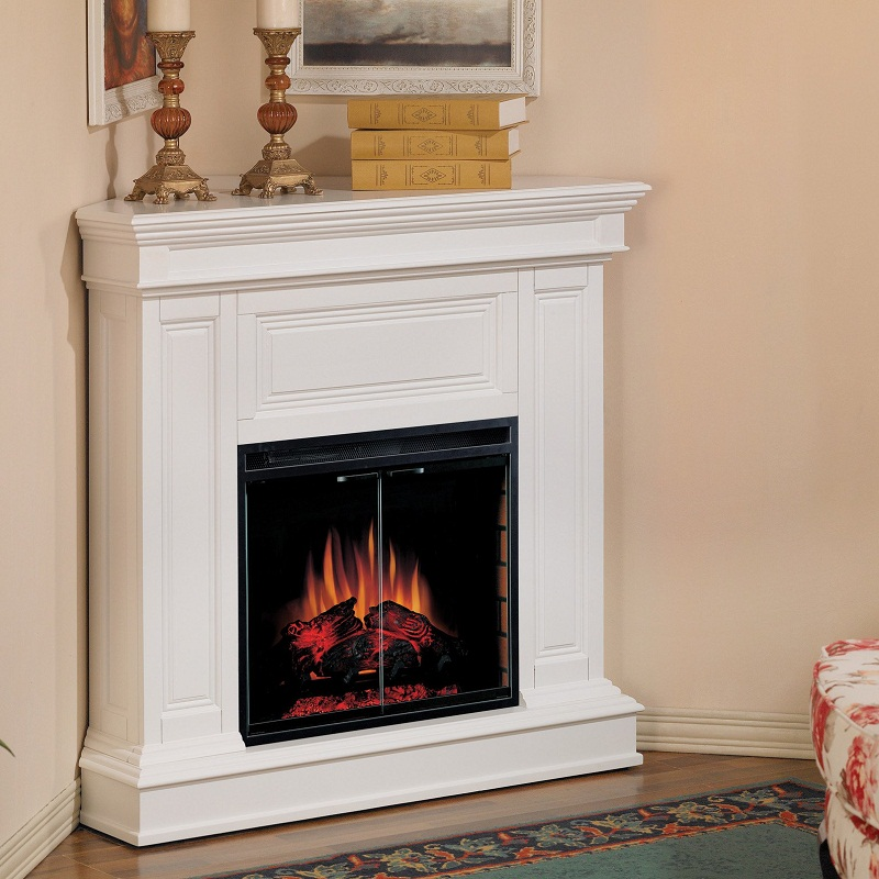 Electric Fireplace For Small Living Room on Small Space Small Living Room With Fireplace  id=97519