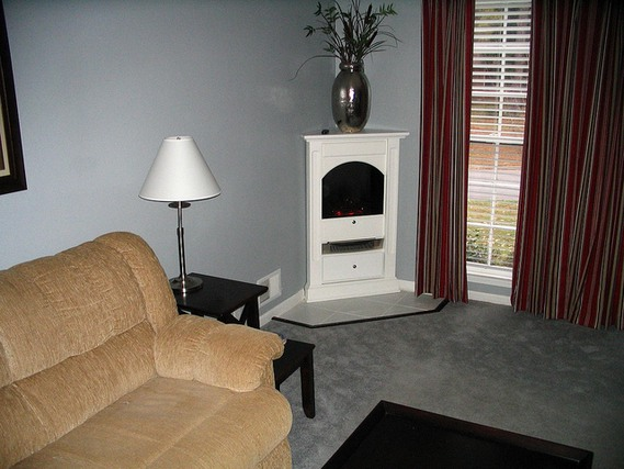 corner electric fireplace ideas for small room images 04 small room