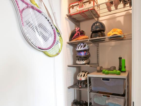 sport equipment closet organizing ideas pic 04
