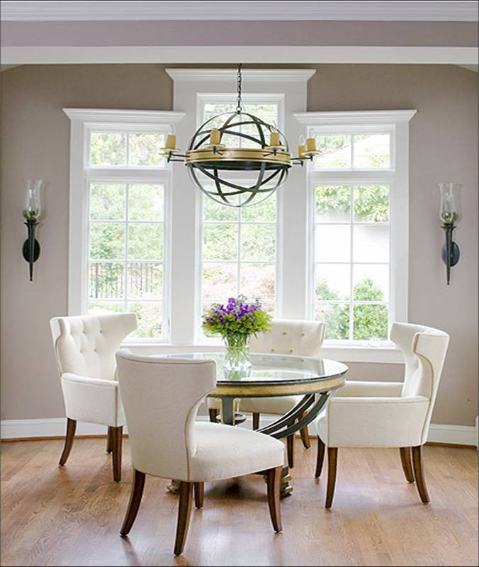 trendy dining room furniture white color ideas pic 08