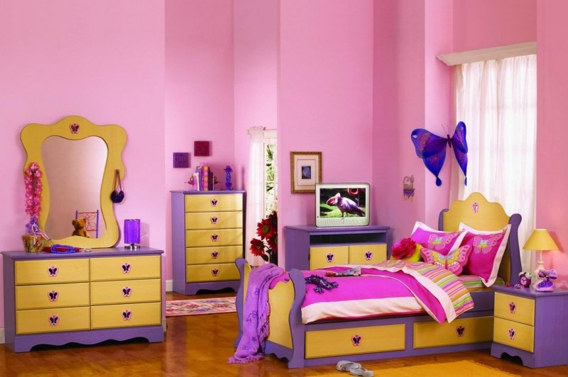 Cute Girl Bedroom decorating ideas photos 14