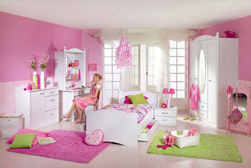 Bring the girlish look to your bedroom cute kids bedroom for Cute bedroom decorating ideas for girls