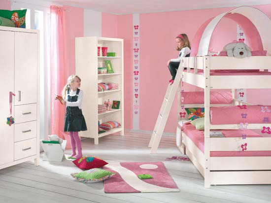 Pink Girls Bedroom Decorating Ideas free pic 11