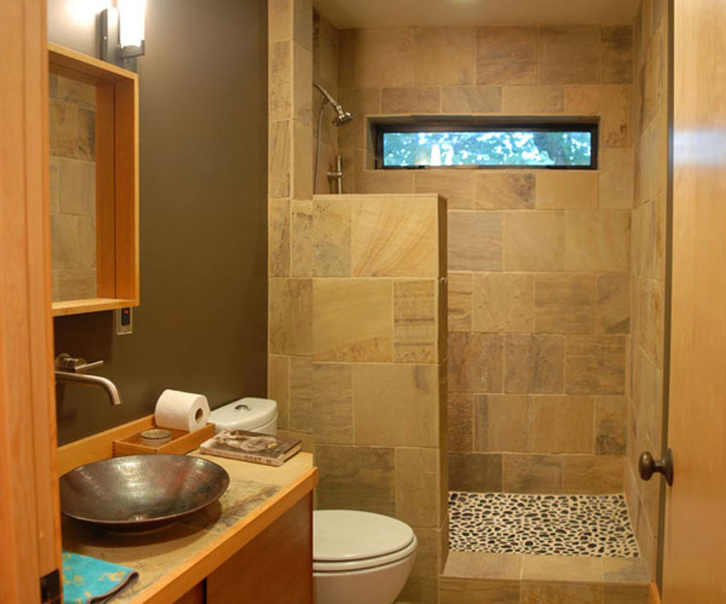 Small bathroom remodeling with shower images 05