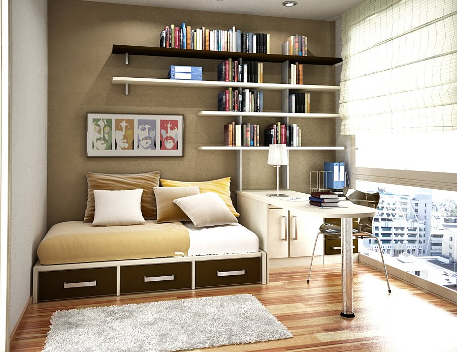 Bedroom storage ideas for small spaces bedroom storage ideas small bedrooms image 04 small - Storage designs for small spaces image ...