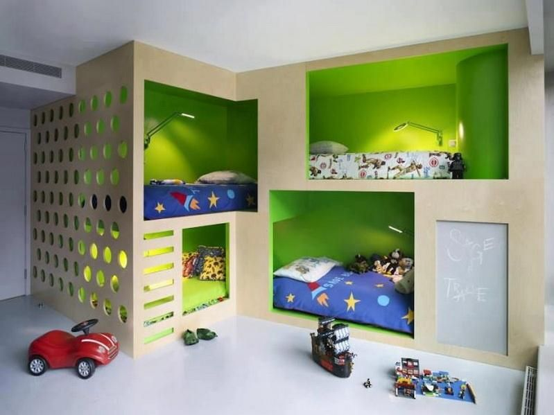 children's small bedroom storage ideas pic 013