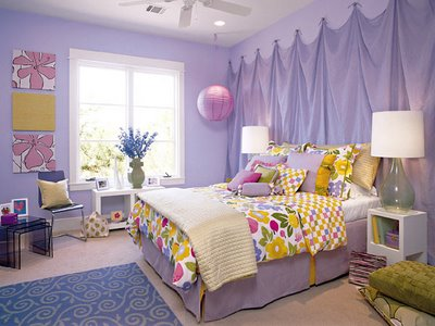 colorfull girls bedroom decorating ideas image 07