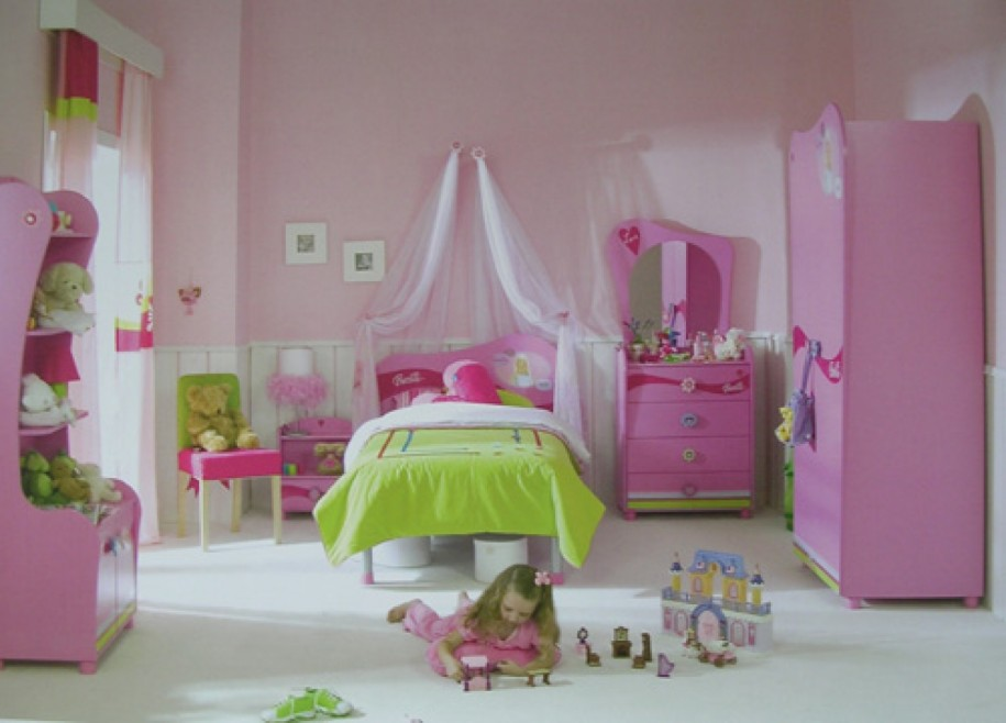 cool decorating small bedroom for little girls image 09