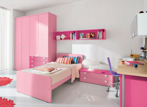girls bedroom decorating ideas pink pictures 03