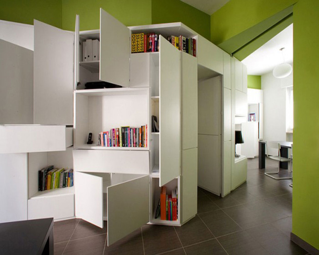Storage ideas for your small apartment small room for Ideas for very small apartments