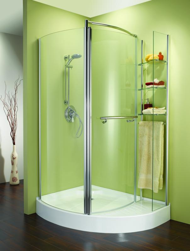 green small bathroom shower designs pictures 05