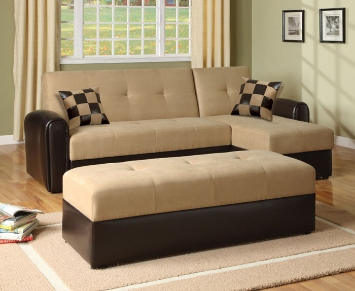Queen sleeper sofa for small space images 04 small room decorating ideas - Sectional sleeper sofa for small spaces paint ...