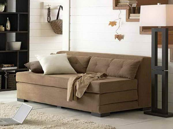 Small space sleeper sectional sofas images 06 small room decorating ideas - Sleeper sofa small spaces image ...