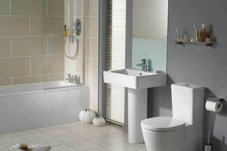 Simple affordable bathroom designs pic 01 small room for Simple small bathroom design ideas