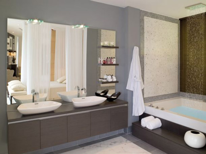Simple elegant bathroom designs photos 012 small room for Elegant small bathrooms